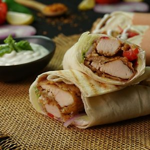 Shish Taouk Wrap Combo