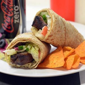 Steak Wrap Combo
